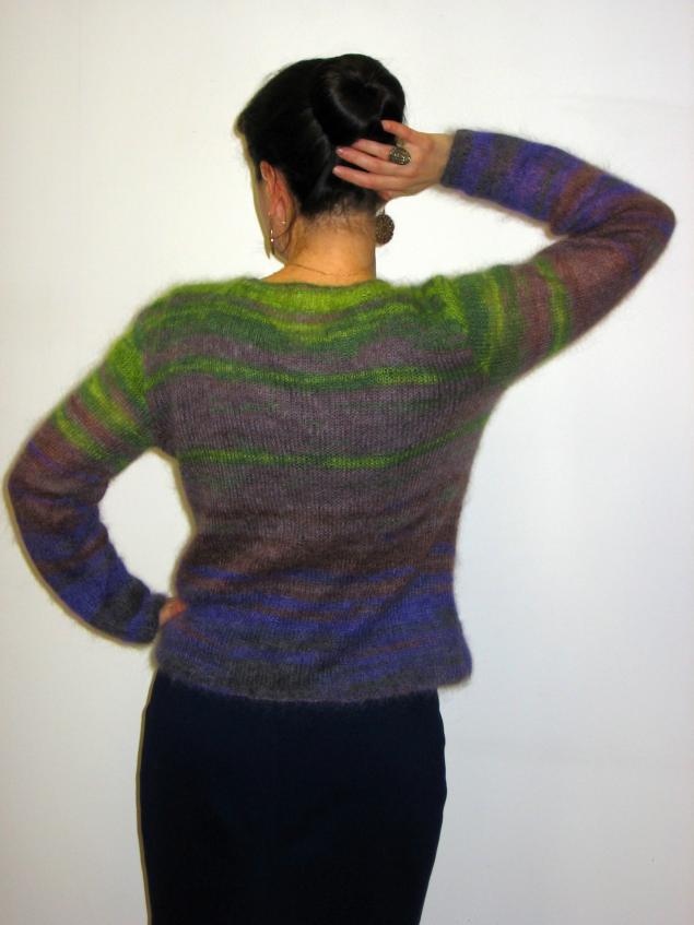 шикарная кофта, кидмохер, кофта вязаная, джемпер, джемпер вязаный, фиолетовый, стильный, красивый, свитер вязаный, свитер шерстяной
