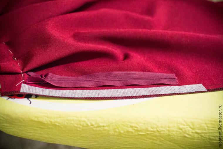 inverted pleats