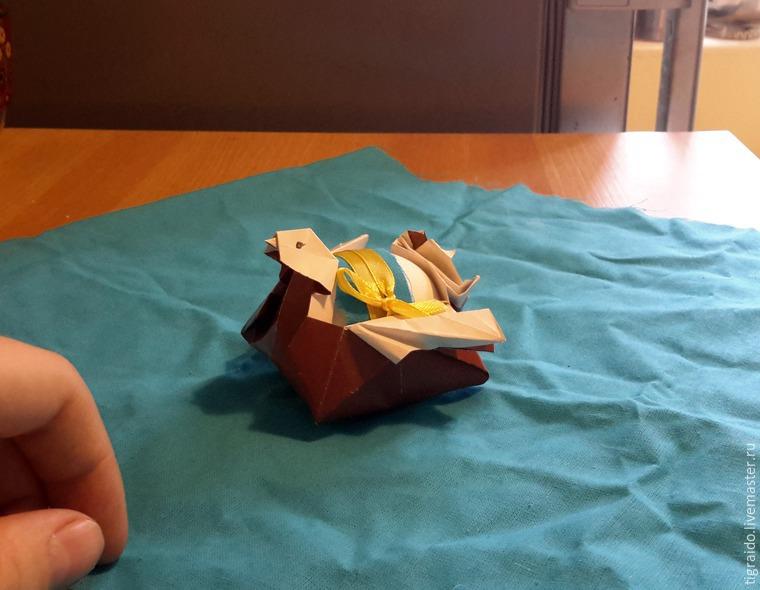 Оригами: пасхальная курочка, фото № 29