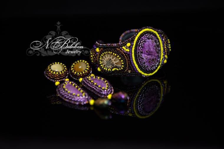 украшения, фиолетовый