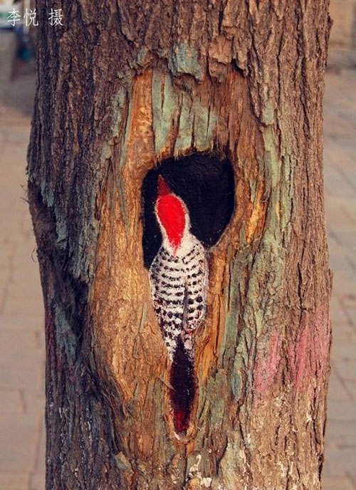 Tree-art, или Роспись деревьев, фото № 6