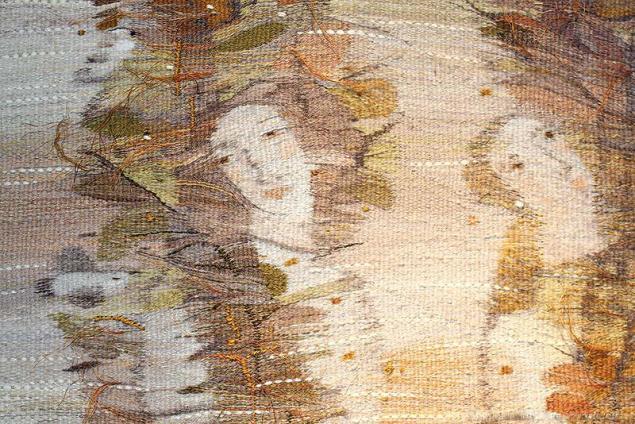 Тканый настенный ковёр шпалера в современных интерпретациях, фото № 9