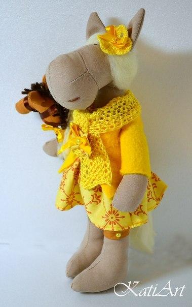 портретная кукла, лошадка, творческая студия
