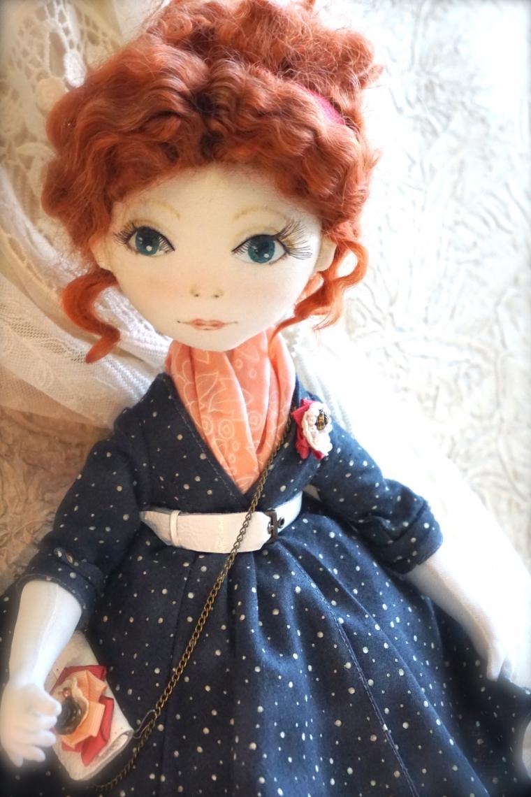 парижанка, интерьерная игрушка, коллекционная кукла, анонс