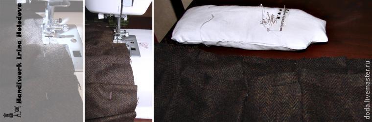 длинная шерстяная юбка