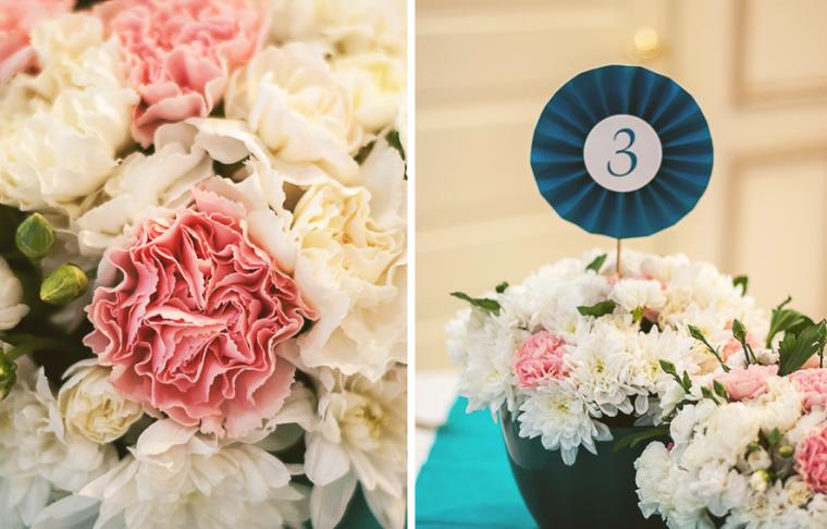 Летняя свадьба в коралловом цвете: наиболее выигрышные сочетания: публикации и мастер-классы