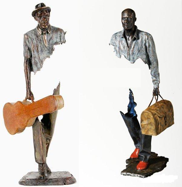 скульптуры бруно каталано в сингапуре