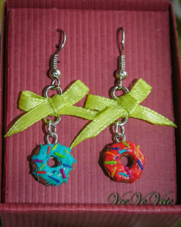 подарок, полимерная глина, подарочная упаковка, атласная лента, для девушки девочки