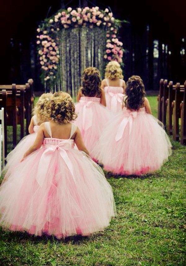 Платье из фатина принцесса