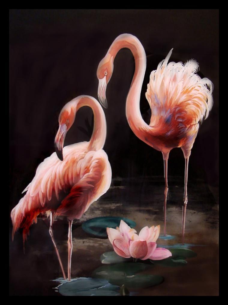 что означает розовый фламинго