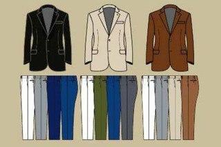 Сочетание цветов в одежде мужской