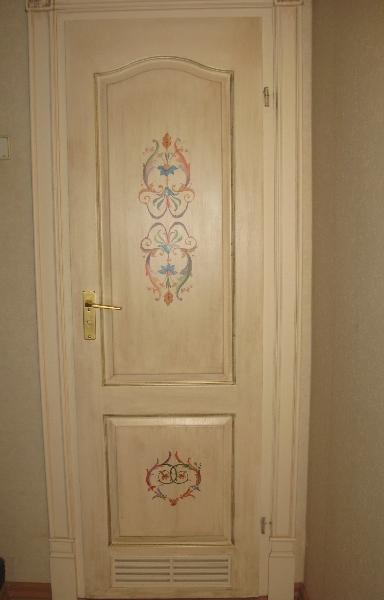 мастер-класс, итальянские ткани, роспись по дереву, арабеска