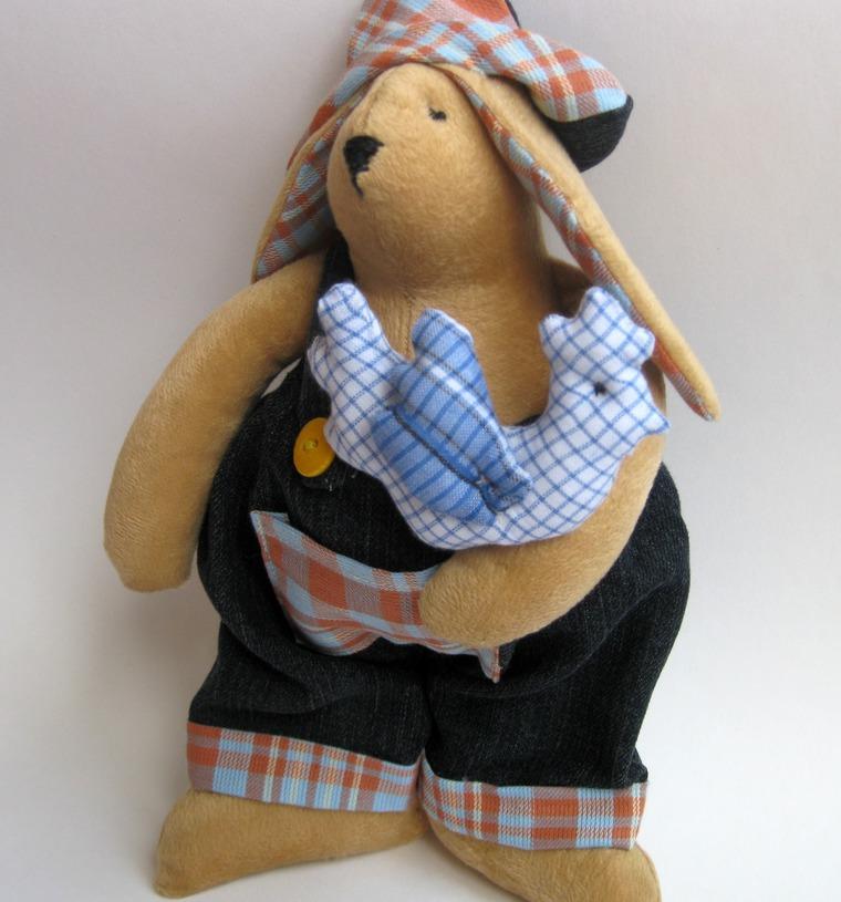 новость, тильда, текстильная игрушка, пасхальный кролик, заяц тильда