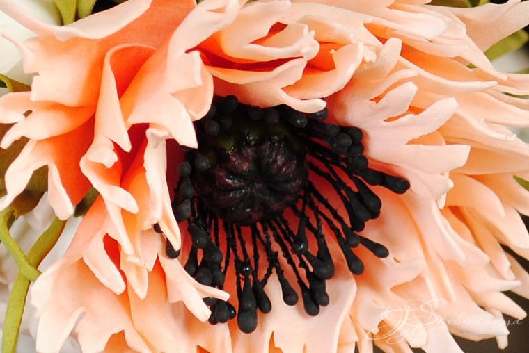 мк, цветы из фоамирана, маки