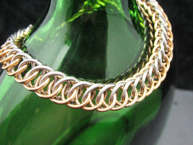 persian, full persian, кольчужное плетение