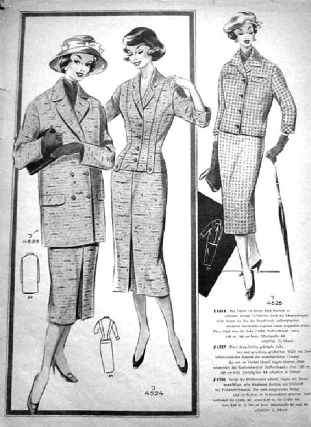 Журнал мод 50 60-х годов 31