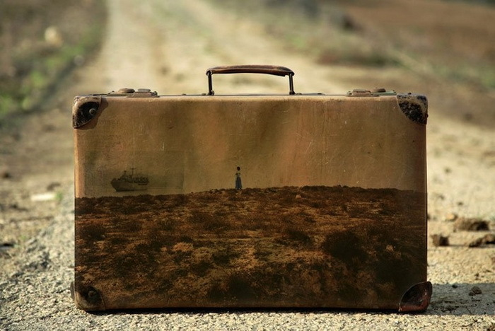 чемодан, чемоданы памяти