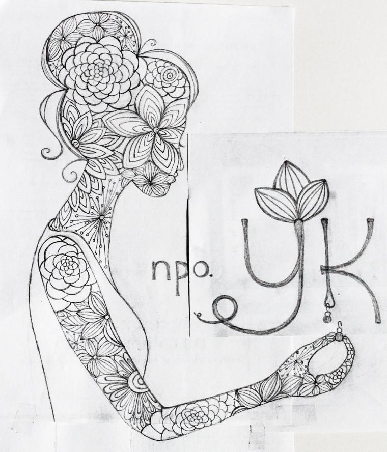 фирменный стиль, рисунок, красота