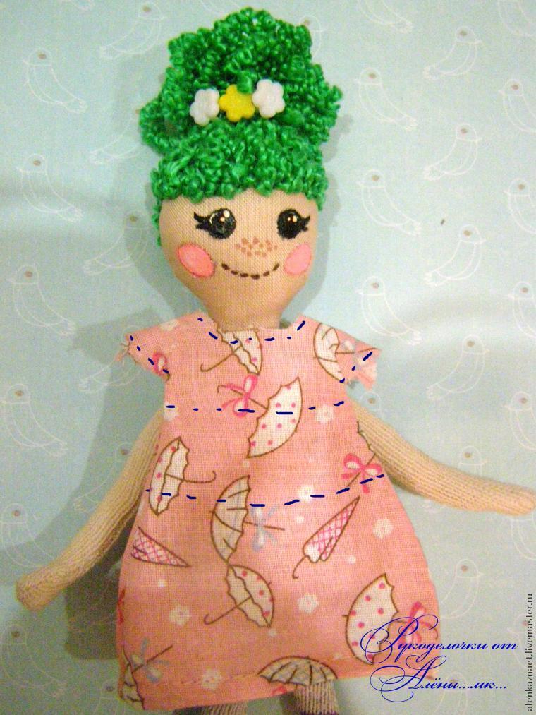 Мастерим куклу-подвеску «Бабочка» по мотивам Лалалупси, фото № 29
