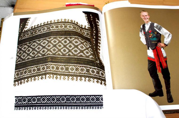 воронежский костюм, воронежская губерния, черная вышивка