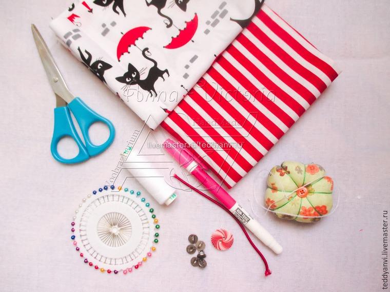 3a65644e1de7 Делаем удобный текстильный пакет Ланч Бэг – Ярмарка Мастеров