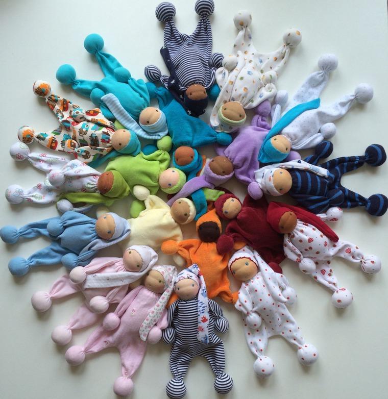 waldorf toy, кукла из ткани