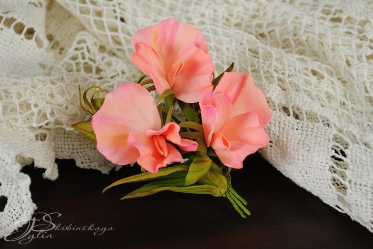 мастер-класс, мк москва, цветы из фома, лаванда, флористика handmade