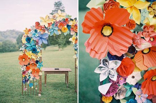 бумага, дизайн, цветы ручной работы