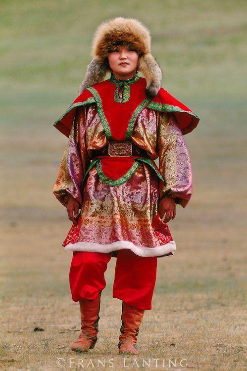 Native Dress, Ulaanbaatar, Mongolia