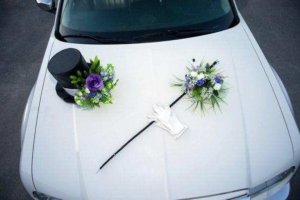 Своими руками сделать свадебные украшения на машину
