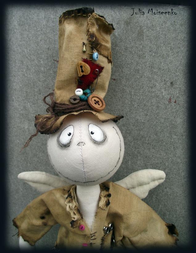 кукла тыковка, примитив