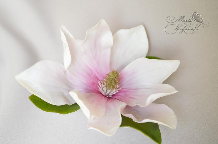 лепка цветов из фарфора