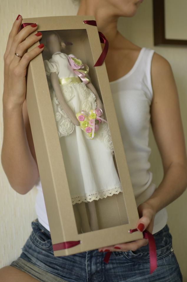 Коробка для куклы своими руками