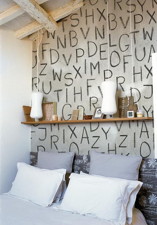 Мысли на виду! (или 60 идей декора стен с помощью слов, букв и цифр), фото № 50