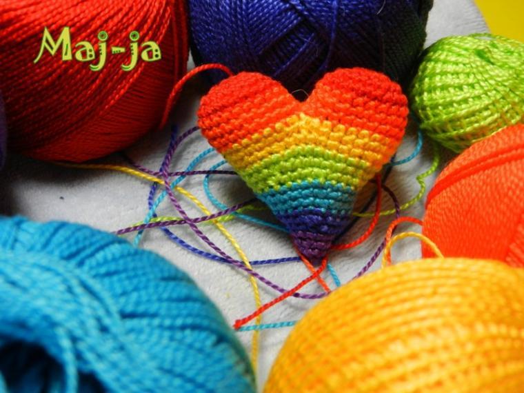 вязание крючком, сердце, сердечко, любовь, 14 февраля, день всех влюбленных, вязаное сердце, сувенир, для него, валентинка