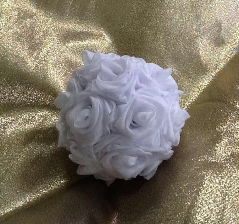 декоратиивные шары, шар из роз