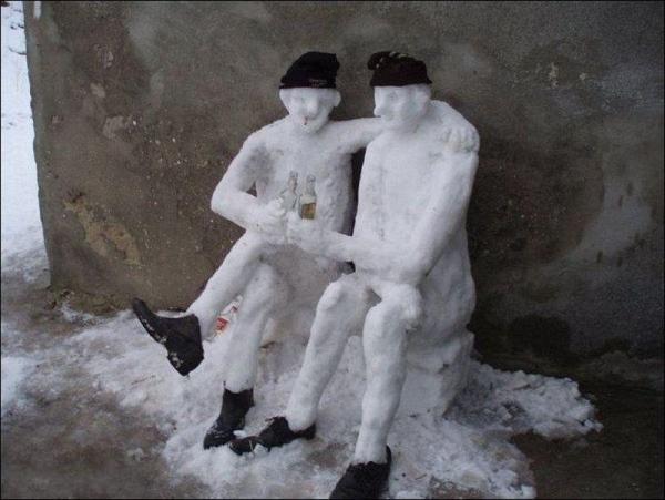 Иван Иваныч Снеговик или пару строк из биографии Снежной Бабы :-), фото № 18