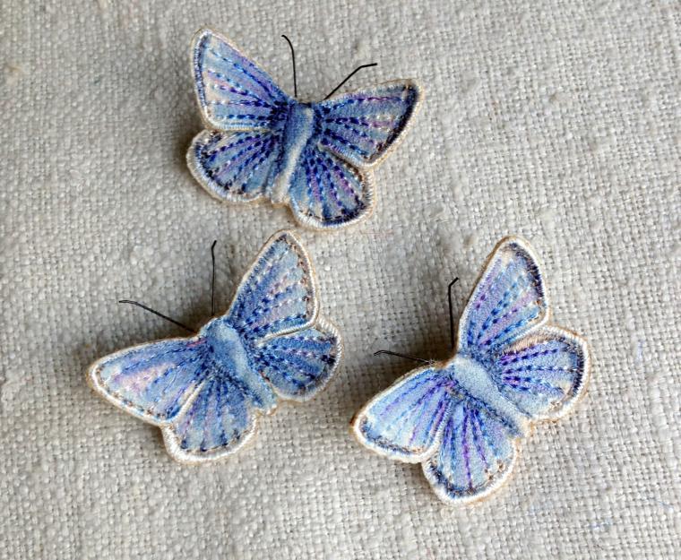 Текстильные шедевры, или Бабочки как источник вдохновения, фото № 13