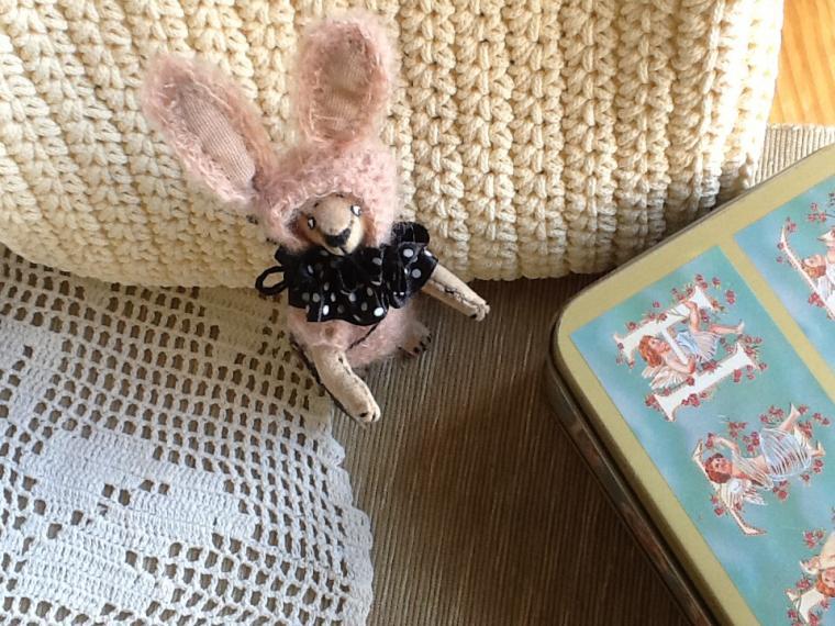 мишка ручной работы