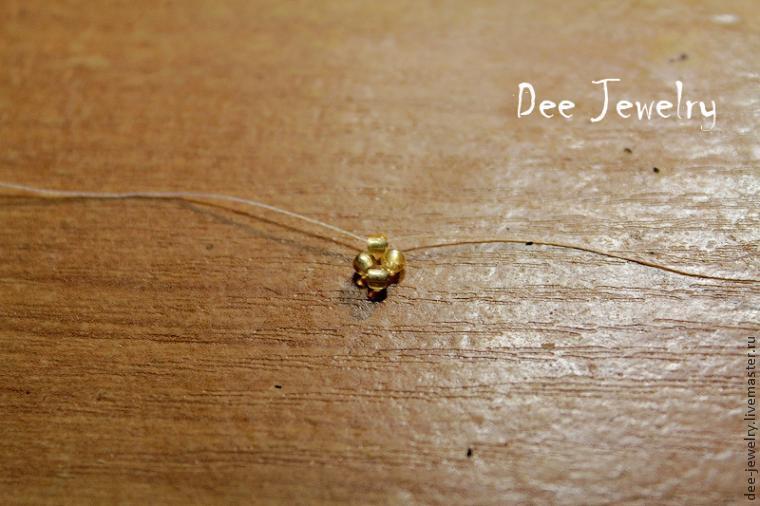 плетение в крестик