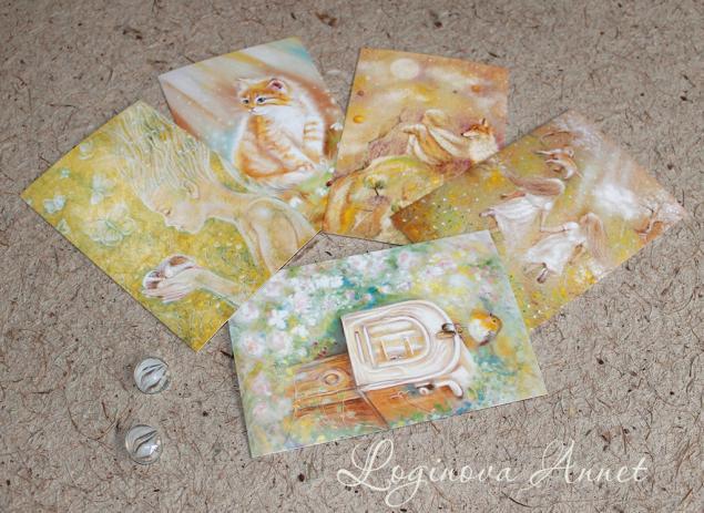 наборы открыток, подарочные наборы, необычные подарки
