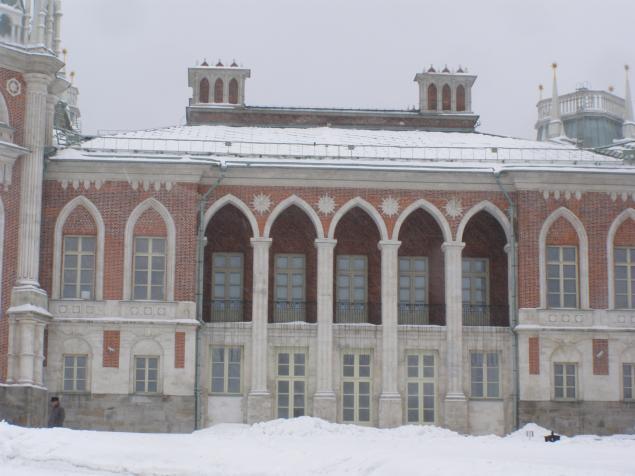 Царицыно в зимнем ракурсе., фото № 7