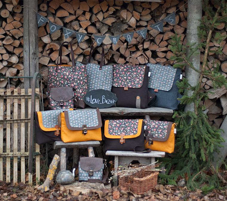 сумки, foxy crafts
