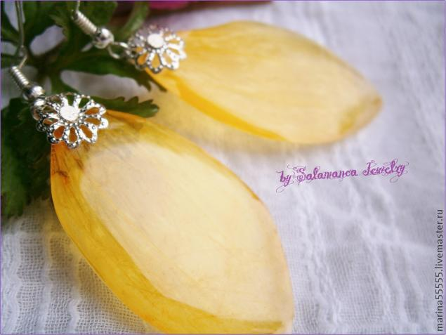 сухоцветы, мастер класс, льдинки