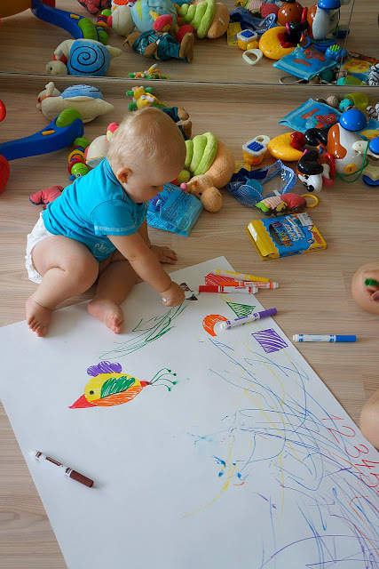 Как рисовать с малышом полутора лет, фото № 7