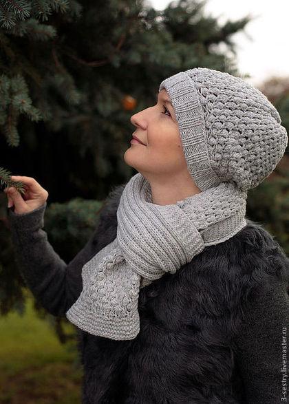 аукцион, аукцион сегодня, подарок на новый год, шапки вязанные, шарф вязанный