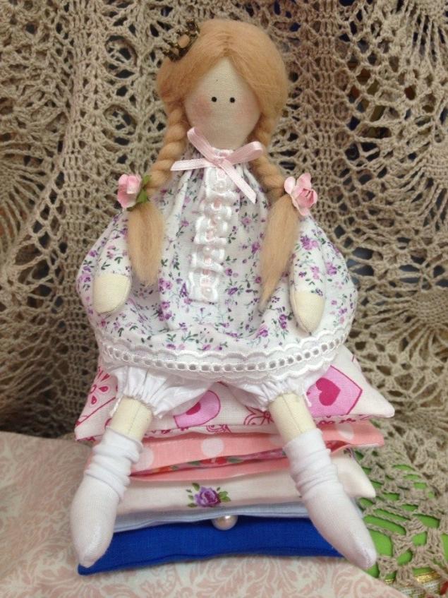 кукла ручной работы, текстильные куклы