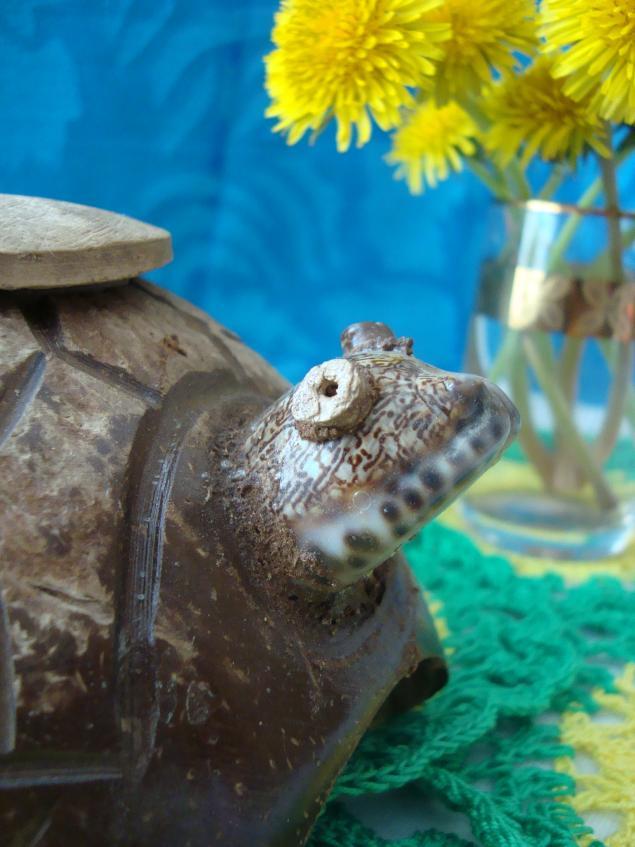 деревянная черепаха