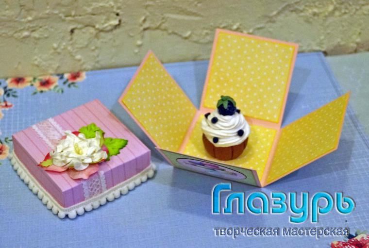 миниатюра, десерт, аксессуары для волос, скрап, подарок своими руками, ягоды