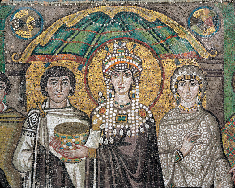 the byzantine style of art developed in The beginnings of an identifiable christian art can be traced to the end of the second century and the beginning of the third century considering the old testament prohibitions against graven images, it is important to consider why christian art developed in the first place the use of images will.